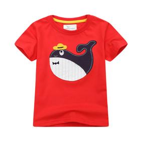 Детская футболка Кит в шляпе (код товара: 49313): купить в Berni