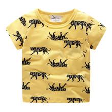 Детская футболка Тигры (код товара: 49326)
