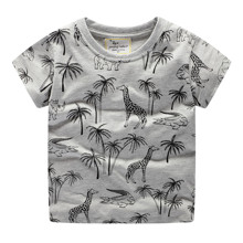 Детская футболка Жираф и крокодил оптом (код товара: 49322)