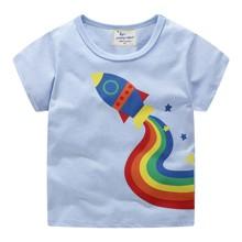 Дитяча футболка Ракета оптом (код товара: 49351)