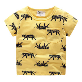 Дитяча футболка Тигри (код товару: 49326): купити в Berni