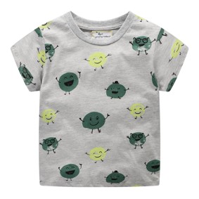 Дитяча футболка Зелений горошок (код товару: 49330): купити в Berni