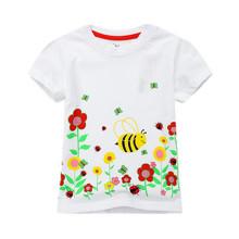 Футболка для девочки Веселая пчелка (код товара: 49306)