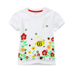 Футболка для девочки Веселая пчелка (код товара: 49306): купить в Berni