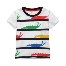 Футболка для мальчика Цветные крокодилы (код товара: 49329)