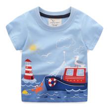 Футболка для мальчика Корабль (код товара: 49317)