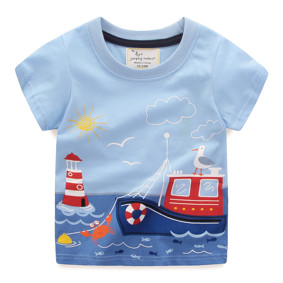 Футболка для мальчика Корабль (код товара: 49317): купить в Berni