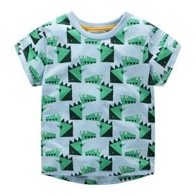 Футболка для мальчика Крокодилы (код товара: 49339): купить в Berni