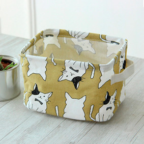 Корзина для игрушек, белья, хранения Коты (код товара: 49390): купить в Berni
