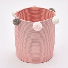 Корзина для игрушек, белья, хранения Розовая (код товара: 49374)