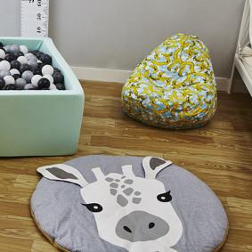 Коврик Жираф 90 x 90 см оптом (код товара: 49370): купить в Berni