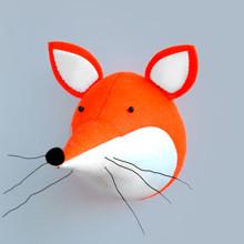 Мягкая игрушка украшение Лиса (код товара: 49353)