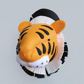 Мягкая игрушка украшение Тигр (код товара: 49350): купить в Berni