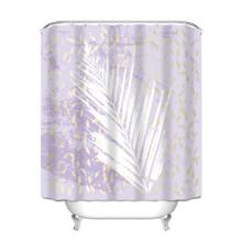 Штора для ванной Пальмовый лист 180 х 180 см оптом (код товара: 49396)