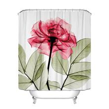 Штора для ванної Троянда 180 х 180 см оптом (код товара: 49388)
