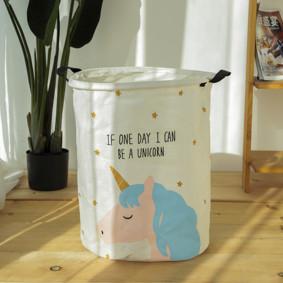 Корзина для игрушек, белья, хранения Единорог (код товара: 49468): купить в Berni