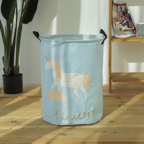 Корзина для игрушек, белья, хранения Единорог (код товара: 49470): купить в Berni