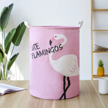 Корзина для игрушек, белья, хранения Фламинго оптом (код товара: 49473)