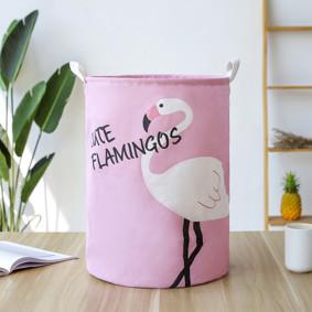 Корзина для игрушек, белья, хранения Фламинго (код товара: 49473): купить в Berni