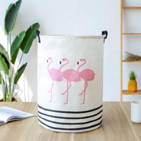 Корзина для игрушек, белья, хранения Фламинго (код товара: 49474): купить в Berni