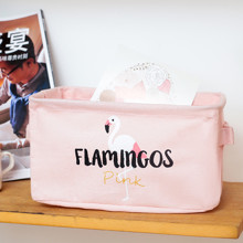 Корзина для игрушек, белья, хранения Фламинго (код товара: 49499)