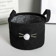 Корзина для игрушек, белья, хранения Кошачий нос оптом (код товара: 49405)