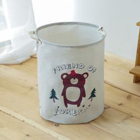 Корзина для игрушек, белья, хранения Медведь (код товара: 49457): купить в Berni