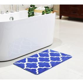 Коврик для ванной Геометрический узор 50 x 80 см (код товара: 49479): купить в Berni