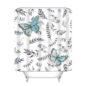 Штора для ванной Бабочка 180 х 180 см (код товара: 49451): купить в Berni