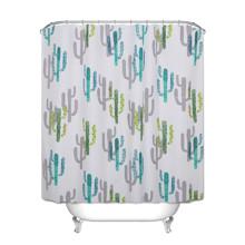 Штора для ванной Кактусы 180 х 180 см (код товара: 49444)