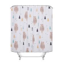 Штора для ванной Медведь 180 х 180 см оптом (код товара: 49448)