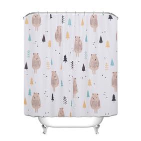 Штора для ванной Медведь 180 х 180 см (код товара: 49448): купить в Berni