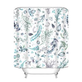 Штора для ванной Растения 180 х 180 см (код товара: 49452): купить в Berni