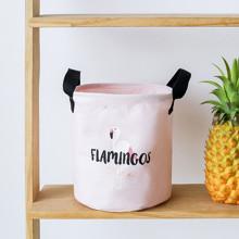 Корзина для игрушек, белья, хранения Фламинго (код товара: 49531)