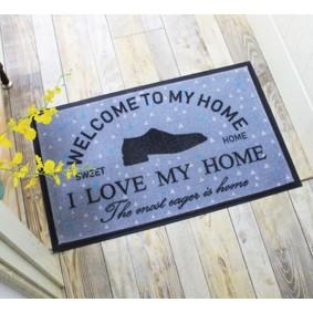 Коврик Я люблю свой дом 50 х 80 см (код товара: 49549): купить в Berni