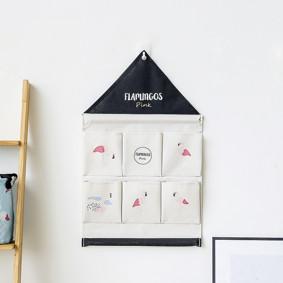 Органайзер настенный для хранения Белый Фламинго (39 х 40 см. / 6 ячеек) (код товара: 49578): купить в Berni