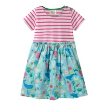 Платье для девочки Океан (код товара: 49552)