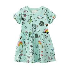 Платье для девочки Забавные рисунки (код товара: 49553)
