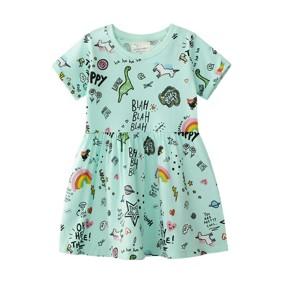 Платье для девочки Забавные рисунки (код товара: 49553): купить в Berni