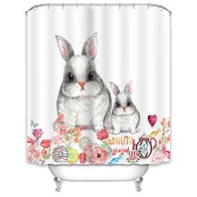 Штора для ванной Кролики 180 х 180 см (код товара: 49517): купить в Berni