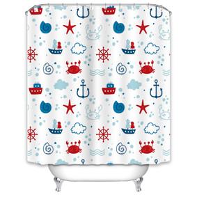 Штора для ванной Море 180 х 180 см (код товара: 49519): купить в Berni
