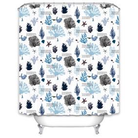 Штора для ванной Морское дно 180 х 180 см (код товара: 49527): купить в Berni