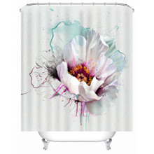Штора для ванной Нежный цветок 180 х 180 см оптом (код товара: 49508)
