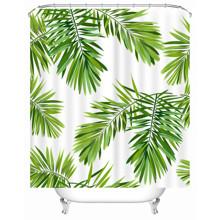 Штора для ванной Пальмовые листья 180 х 180 см оптом (код товара: 49511)