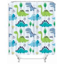 Штора для ванної Маленькі динозаври 180 х 180 см оптом (код товара: 49514)