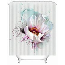 Штора для ванної Ніжна квітка 180 х 180 см оптом (код товара: 49508)
