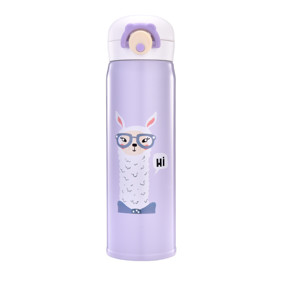 Термос фиолетовый Лама 350 мл (код товара: 49597): купить в Berni