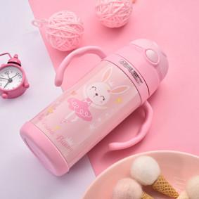 Термос розовый Кролик 400 мл (код товара: 49592): купить в Berni