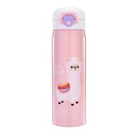 Термос розовый Лама 350 мл (код товара: 49599): купить в Berni