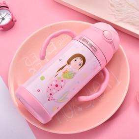 Термос розовый Русалка 400 мл (код товара: 49590): купить в Berni